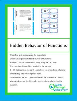 Hidden Behavior Task Cards