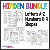 Hidden Bundle: Numbers, Letters, Shapes