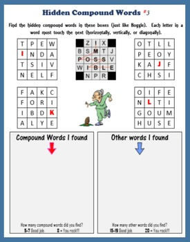 Hidden Compound Words
