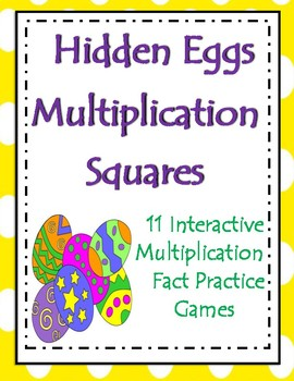 Easter Multiplication Fact practice