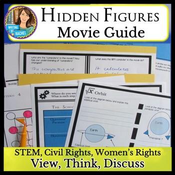 Hidden Figures (2016) Movie Bundle: STEM, Civil Rights, Women's Rights