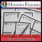 Hidden Figures Movie Guide: Civil Rights/ Women's Rights