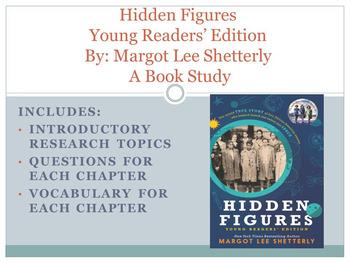 Hidden Figures: A Book Study