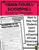 Hidden Figures Biography Reading Passages