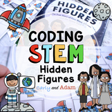 Hidden Figures Black History Month Coding Activity + Digit
