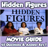 Hidden Figures Movie Guide (Black History Month/Women's Studies)