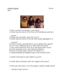 Hidden Figures Movie Guide  Quick Quiz and Answer Key