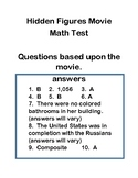 Hidden Figures Movie Quiz