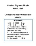 Hidden Figures Movie Quiz