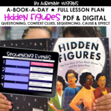 Hidden Figures Picture Book-A-Day (Google Classroom & PDF) Distance Learning