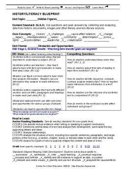 Hidden Figures Unit Overview