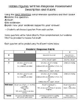 Hidden Figures YRE Study Guide