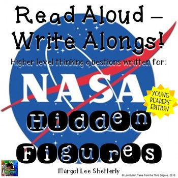 Hidden Figures Young Readers Edition Read Aloud Write Along Book