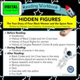 Hidden Figures picture book DIGITAL Reading Workbook in Go