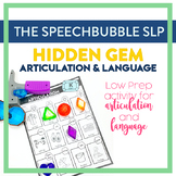 Hidden Gems Articulation and Language