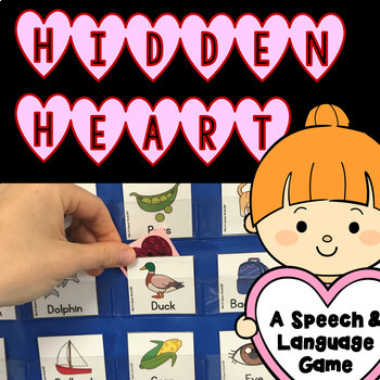 Hidden Heart - A Speech and Language Therapy Game (20 Questions)