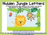 Hidden Jungle Letters-Differentiated I-Spy  CCSS for Letters/Sounds