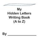 Hidden Letter Writing Book