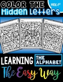 Color the Hidden Letters: Learning the Alphabet the Easy Way