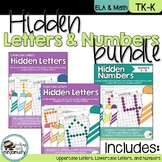 Hidden Letters and Numbers Bundle