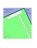 Hidden Message Math Puzzles 3 - algebra II/trig