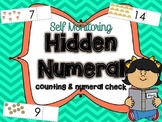 Hidden Numeral Cards for Counting and Cardinality