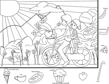 Hidden Object Search By Cool School Graphics Teachers Pay Teachers