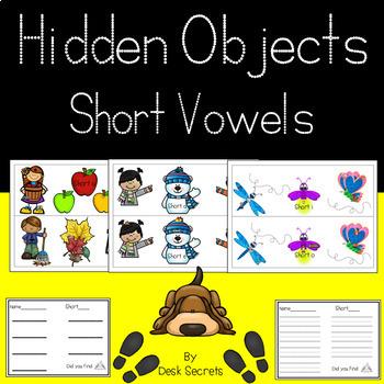 Hidden Objects Short Vowels
