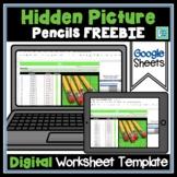 Editable Hidden Mystery Picture Digital Worksheet FREEBIE