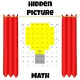 Hidden Picture Math - Convert Fractions to Decimals - Light Bulb
