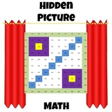 Hidden Picture Math - Convert Fractions to Percents - Percent Symbol
