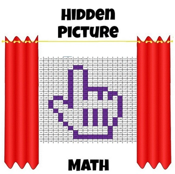 Hidden Picture Math - Multiply and Divide Decimals - Math Fun!