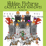 Articulation Activity Hidden Pictures Castle and Knights