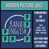 Hidden Picture Quiz Template for Powerpoint or Keynote
