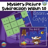 Mystery Picture Subtraction Within 10