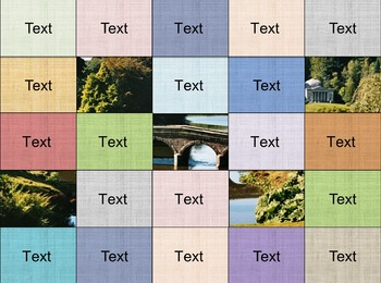 Hidden Picture Template - 5x5