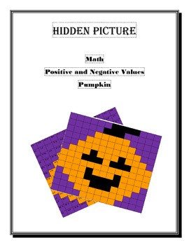 Hidden Picture Value integers (pumpkin)