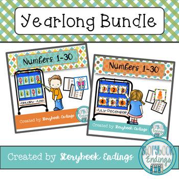 Numbers 1-30 Yearlong Bundle