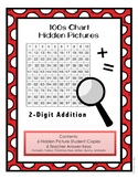 Two-Digit Addition Hidden Pictures Seasonal Pack