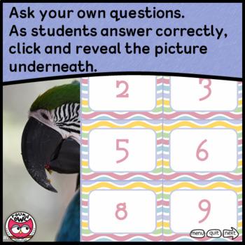 Hidden Pictures 2 - Quiz Board