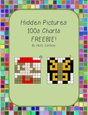 Hidden Pictures Hundreds Charts - FREE