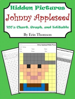 Hidden Pictures ~ Johnny Appleseed