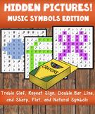 Hidden Pictures! Music Symbols Edition