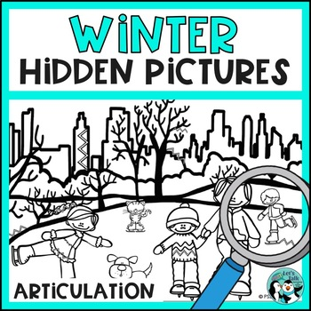 Hidden Pictures for Articulation