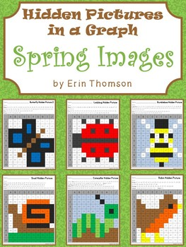 Hidden Pictures in a Graph ~ Seasons {Spring}