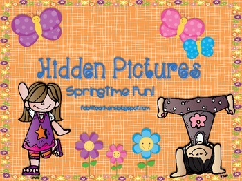 Hidden Pictures...For Springtime Fun
