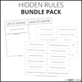 Hidden Rules Social Skills Bundle Pack