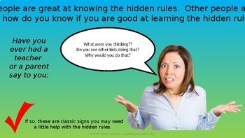 Hidden Rules; Things You Shouldn't Say to Others; Perspective Taking