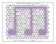 Hidden Shape Coloring Sheet Music Dynamics - Forte