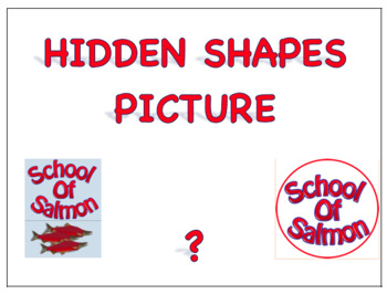 Hidden Shapes Picture